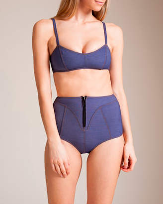 Lisa Marie Fernandez Swimwear Denim Genevieve Bikini