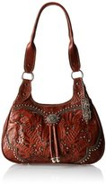 American West Lady Lace 3 Compartment Scoop Tote