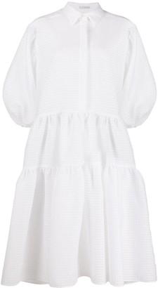 Cecilie Bahnsen Oversized Shirt Dress