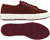 Superga Corbinu Lace Up Plimsolls, Bordeaux