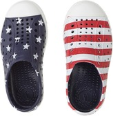 Native Jefferson Stars and Stripes Print Kid's Shoes