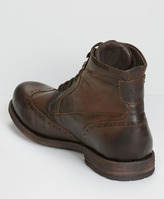 Levi's Brogue Lace-Up Boots
