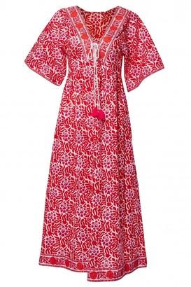 Pink City Prints - Mexican Paros Beach Dress - XS/S