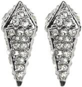 Rebecca Minkoff Pave Spike Stud Earrings