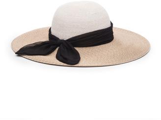 Eugenia Kim Honey Floppy Sun Hat w/ Scarf Band