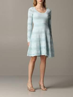 M Missoni Short Dress In Fancy Knit
