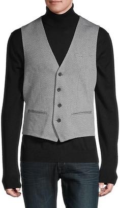 Antony Morato Geometric-Print Cotton Vest
