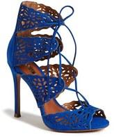 Schutz 'Ciara' Perforated Sandal
