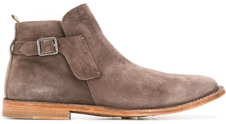Officine Creative Steple buckled ankle boots