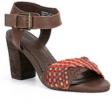 Naughty Monkey Kate Woven Banded Sandals