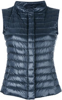 Herno padded gilet - women - Feather Down/Polyamide - 40