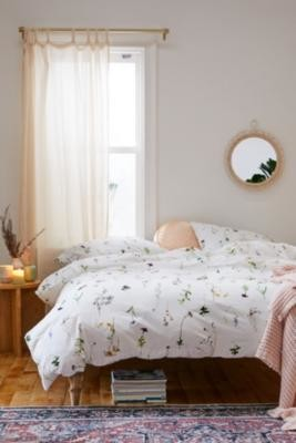 Urban Outfitters Lola Photo Floral Duvet Cover Set - Assorted KING at