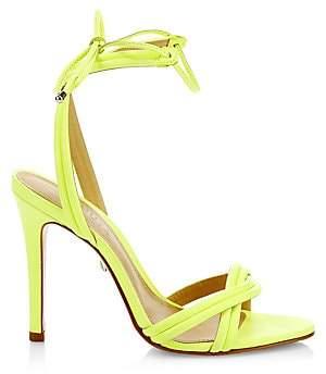 Schutz Women's Yvi Leather Stiletto Sandals