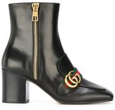 Gucci fringed ankle boots
