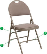 Asstd National Brand Large Folding Chair