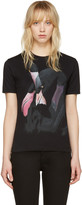 Givenchy Black Flamingo T-Shirt