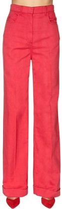 Philosophy di Lorenzo Serafini Cotton Drill Wide Leg Pants