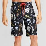 Star Wars Men's Figures AOP Board Shorts - Black
