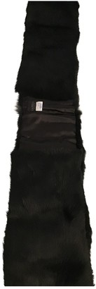 La Perla Black Fox Scarves