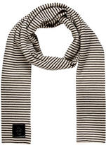 Tory Burch Striped Wool-Blend Scarf
