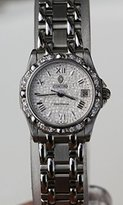 Concord Saratoga Diamond Bezel Date Mozaic Dial Stainless-Steel Swiss Women's Watch