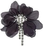 Lanvin oversized flower brooch