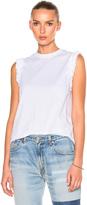 Victoria Victoria Beckham Ruffle Sleeveless Tee Shirt