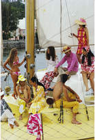 "Jonathan Adler Slim Aarons ""Colourful Crew"" Photograph"