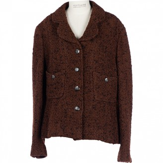 Chanel Brown Wool Jackets