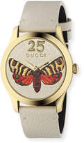 Gucci 38mm G-Timeless Butterfly Watch