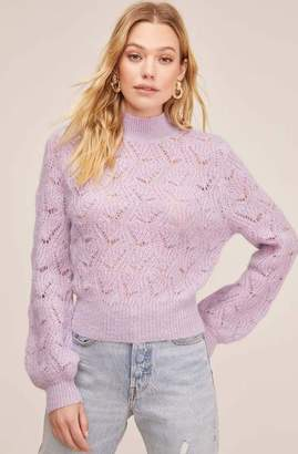 ASTR the Label The Audra Sweater In Lilac - XS