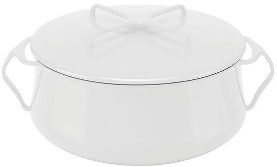 Dansk Kobenstyle Casserole 6qt White
