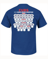 Majestic Boys' Chicago Cubs World Series Roster T-Shirt
