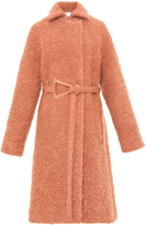 Carven Belted Mohair Coat