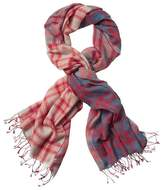 Athleta Plaid Lightweight Scarf