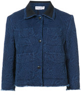 Sonia Rykiel cropped denim jacket - women - Cotton - 38