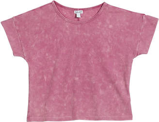 Splendid Ribbed Short-Sleeve Top, Size 7-14