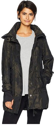 Blanc Noir Camo Anorak Jacket (Camo) Women's Coat