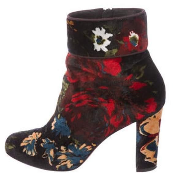 8c666f30992 Moulamax 85 Velvet Ankle Boots Black Moulamax 85 Velvet Ankle Boots