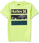 Hurley Big Boys 8-20 Take Flight Short-Sleeve Graphic Tee