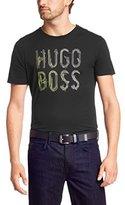 HUGO BOSS Mens Short Sleeve 'Teeos' T-shirt in cotton