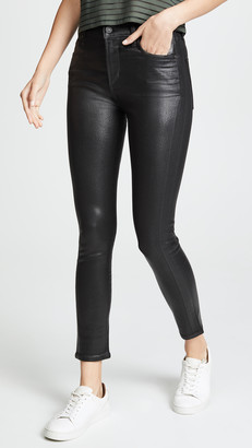 Citizens of Humanity Rocket Leatherette High Rise Skinny Jeans