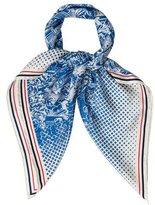 Louis Vuitton Toile de Jouy Silk Scarf