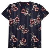 Burton Mens Big & Tall Floral T-Shirt