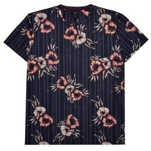 Mens Big & Tall Floral T-Shirt