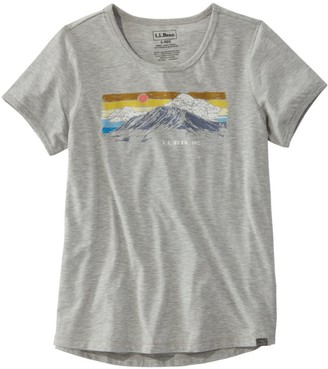 L.L. Bean Women's L.L.Bean Graphic T-Shirt, Short-Sleeve