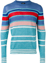 Diesel Colonial jumper - men - Linen/Flax/Polyester - S