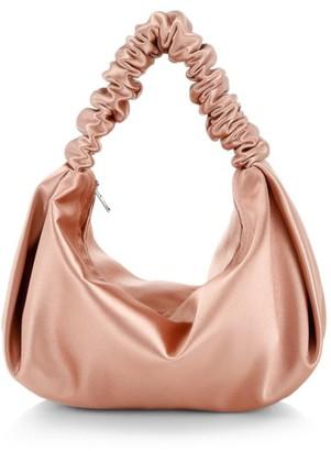 Alexander Wang Mini Scrunchie Satin Bag