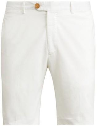 Ralph Lauren Purple Label Eaton Stretch-Cotton Shorts