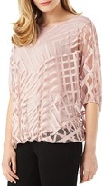 Phase Eight Eve Geometric Overlay Top